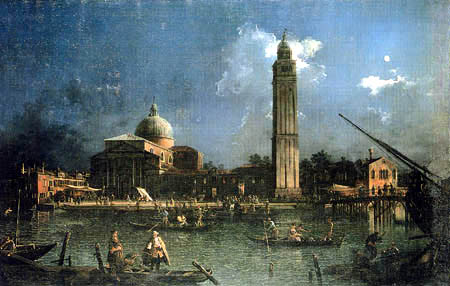 Giovanni Antonio Canal, called Canaletto - The guards of San Pietro