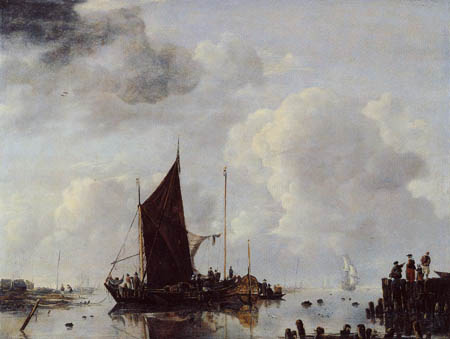 Jan van de Capelle - A port