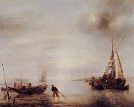 Jan van de Capelle - Calm