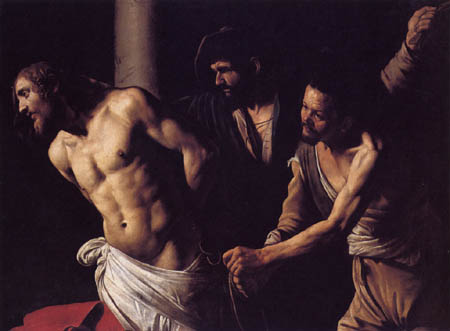 Michelangelo Merisi da Caravaggio - Flagellation of Christ
