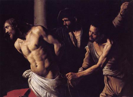 Michelangelo Merisi da Caravaggio - Le Caravage - Flagellation of Christ