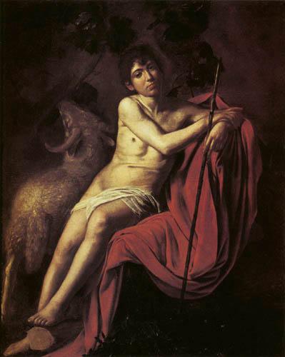 Michelangelo Merisi da Caravaggio - St. John the Baptist