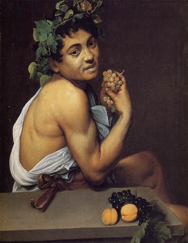 Michelangelo Merisi da Caravaggio - Selfportrait as Bacchus