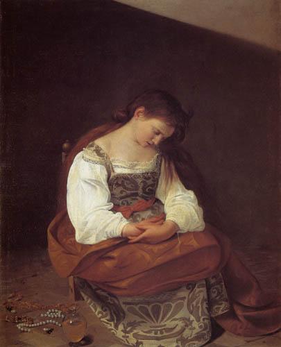 Michelangelo Merisi da Caravaggio - Penitent Magdalen