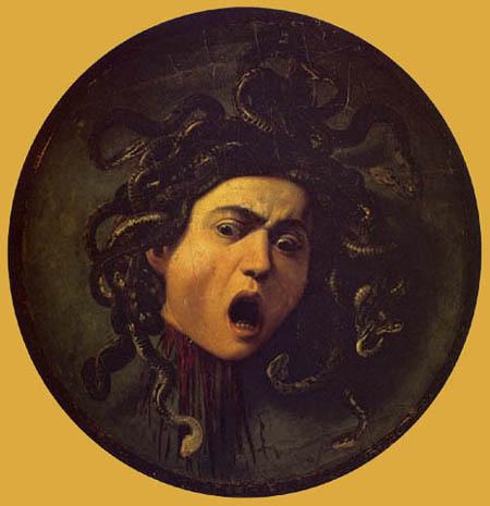 Michelangelo Merisi da Caravaggio - Medusa