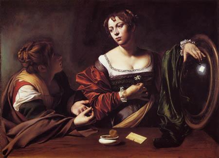 Michelangelo Merisi da Caravaggio - The Conversion of Mary Magdalen