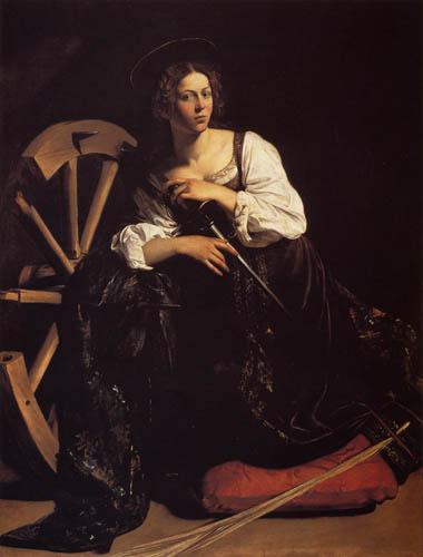 Michelangelo Merisi da Caravaggio - Le Caravage - Hl. Katherina von Alexandria