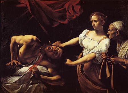 Michelangelo Merisi da Caravaggio - Judit Beheading Holofernes
