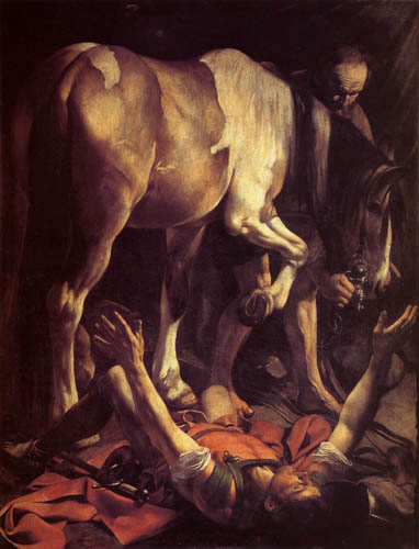 Michelangelo Merisi da Caravaggio - The conversion of Paulus