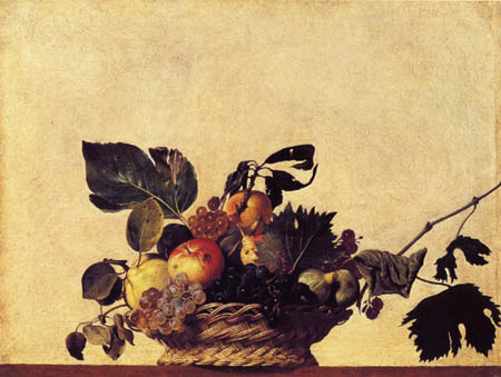 Michelangelo Merisi da Caravaggio - A basket of fruit