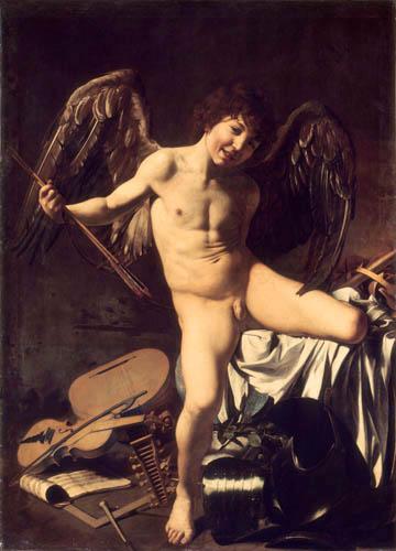 Michelangelo Merisi da Caravaggio - Amor Vincit Omnia