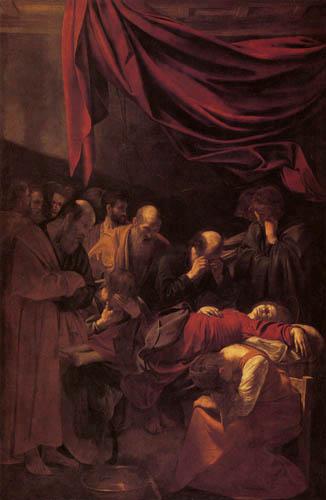 Michelangelo Merisi da Caravaggio - Le Caravage - La mort de la Vierge