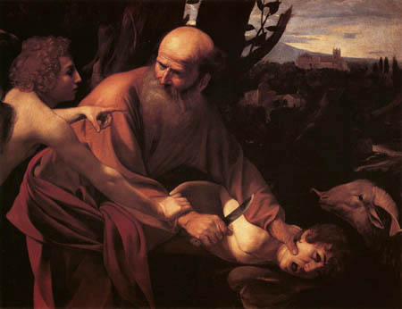 Michelangelo Merisi da Caravaggio - The Sacrifice of Isaac