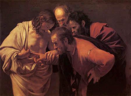 Michelangelo Merisi da Caravaggio - The Incredulity of Saint Thomas