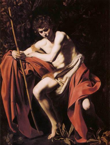 Michelangelo Merisi da Caravaggio - John the Baptist