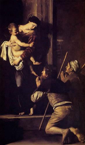 Michelangelo Merisi da Caravaggio - Madonna di Loreto