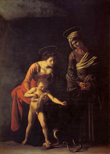 Michelangelo Merisi da Caravaggio - Madonna dei Palafrenieri
