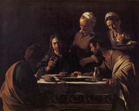 Michelangelo Merisi da Caravaggio - Supper at Emmaus