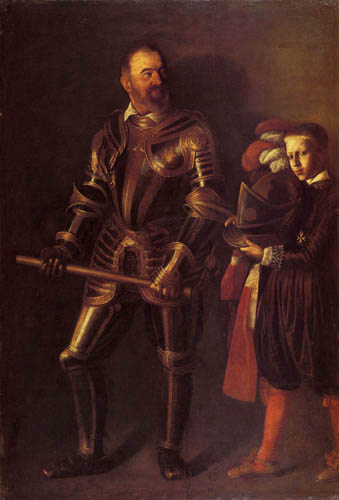 Michelangelo Merisi da Caravaggio - Portrait of Alof de Wignacourt