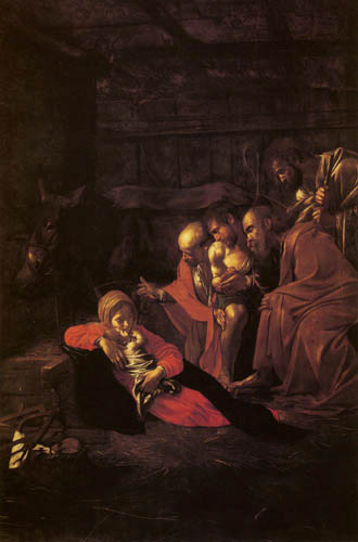 Michelangelo Merisi da Caravaggio - The Adoration of the Herdsmen