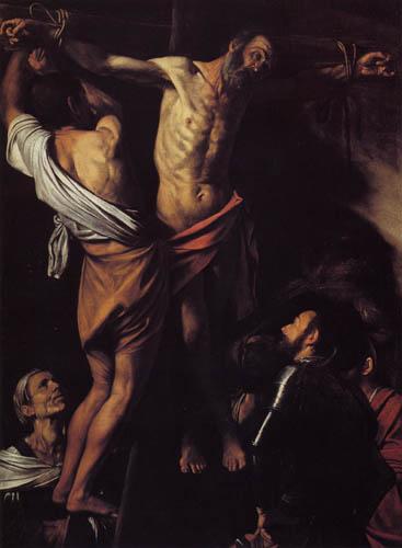 Michelangelo Merisi da Caravaggio - Crucifixion of St. Andrew