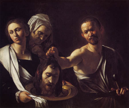 Michelangelo Merisi da Caravaggio - Salome with the Head of St John the Baptist