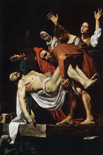 Michelangelo Merisi da Caravaggio - The Entombment of Christ