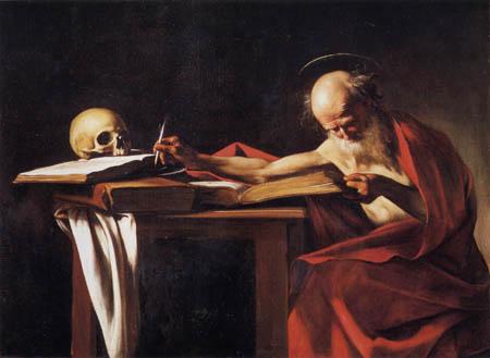 Michelangelo Merisi da Caravaggio - Le Caravage - Hl. Hieronymus