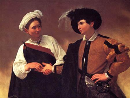 Michelangelo Merisi da Caravaggio - Le Caravage - La devineresse