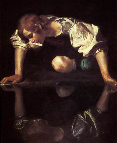 Michelangelo Merisi da Caravaggio - Le Caravage - Narcisse