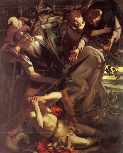 Michelangelo Merisi da Caravaggio - The conversion of Paulus