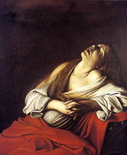 Michelangelo Merisi da Caravaggio - Magdalena