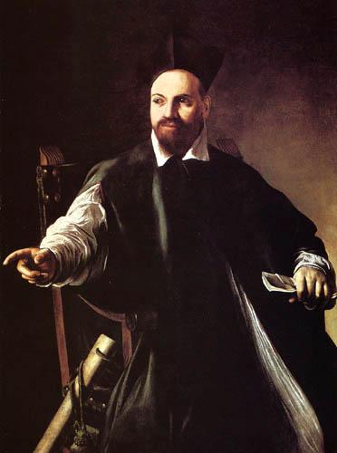 Michelangelo Merisi da Caravaggio - Portrait of Maffeo Barberini