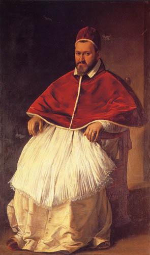 Michelangelo Merisi da Caravaggio - Le Caravage - Porträt Paul V