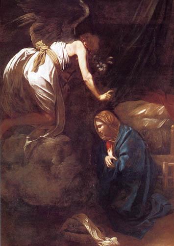 Michelangelo Merisi da Caravaggio - Annunciation