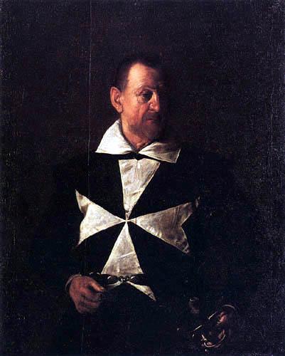 Michelangelo Merisi da Caravaggio - Le Caravage - Alof de Wignacourt