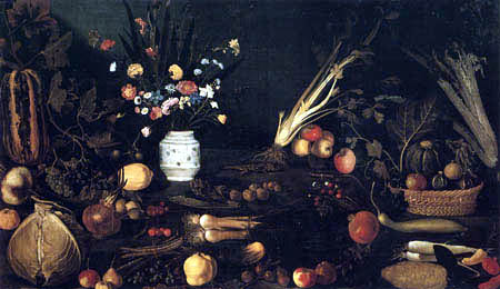 Michelangelo Merisi da Caravaggio - Still life with fruits