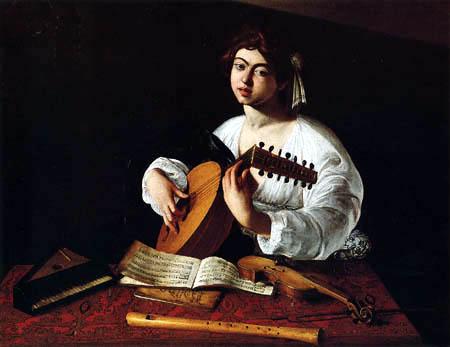 Michelangelo Merisi da Caravaggio - The Musician with the Lute