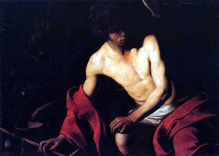 Michelangelo Merisi da Caravaggio - Le Caravage - Saint Jean-Baptist