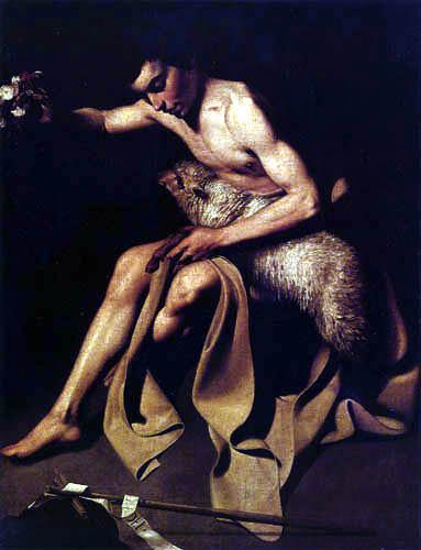 Michelangelo Merisi da Caravaggio - St. Joseph with the sheep