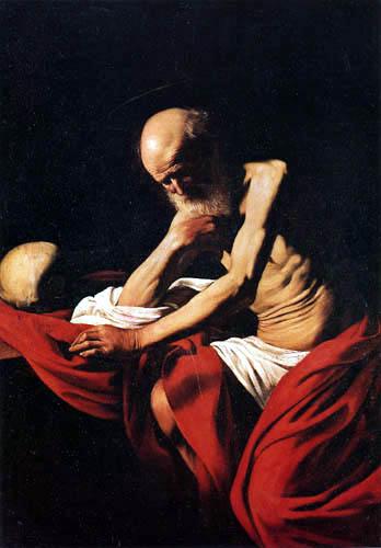 Michelangelo Merisi da Caravaggio - Le Caravage - Saint Jérôme