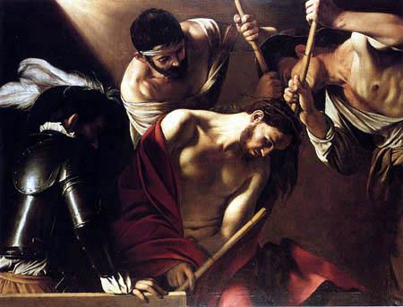 Michelangelo Merisi da Caravaggio - The coronation of thorns