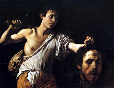 Michelangelo Merisi da Caravaggio - Le Caravage - David avec la tête des Goliath