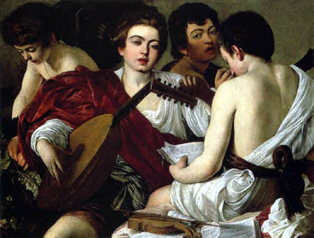 Michelangelo Merisi da Caravaggio - The Musicians