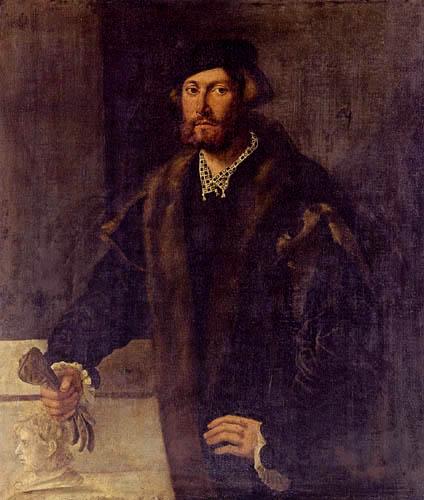 Giovanni Cariani - Portrait d'un homme