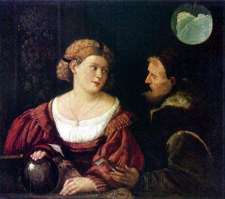 Giovanni Cariani - Temptation