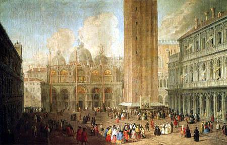 Luca Carlevaris - The Markusplace in Venice