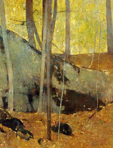 Emil Carlsen - Automne dans les bois