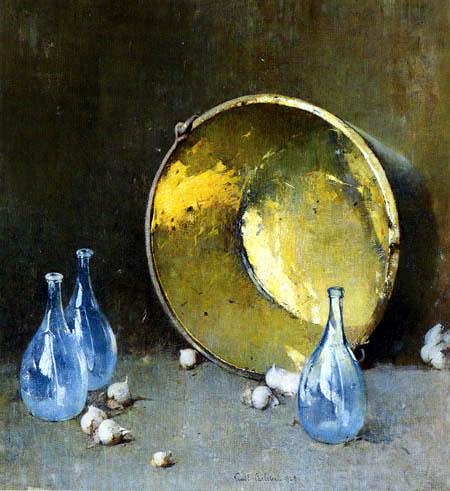 Emil Carlsen - Copper Kettle