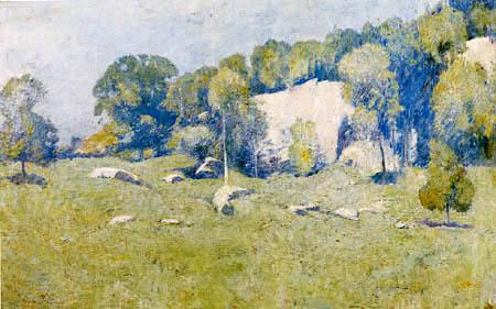 Emil Carlsen - Godwin´s Ridge, Greenwich, Connecticut